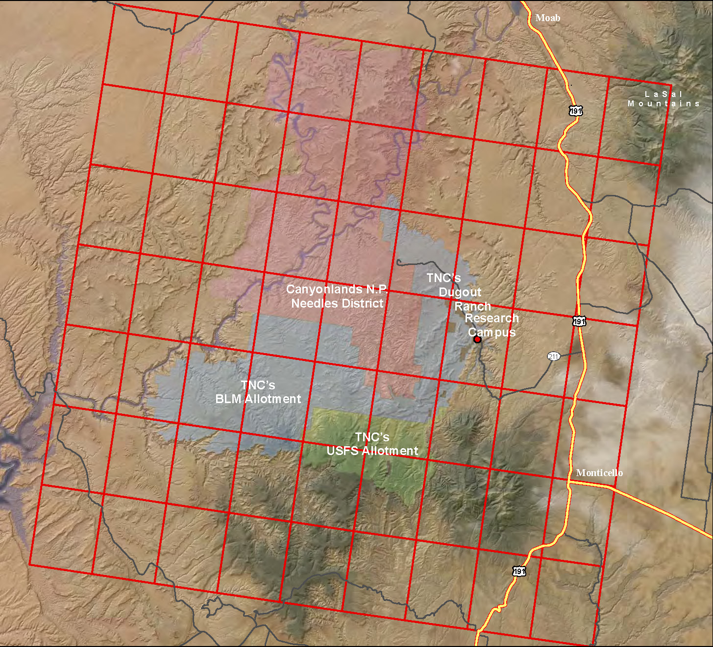 Spatial Data - Canyonlands Research Center